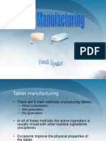 4. Tablet Manufacturing