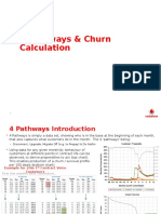 3. 4 Pathways and Churn Calculation