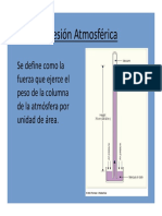 1.3 Presión Atmosférica
