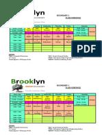 BSA Schedule