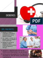 Obligaciones médicas