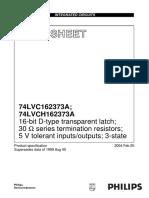 74LVCH162373A