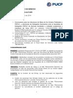 Resolución Nº 6 2016 2JF DER