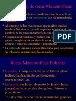 Capitulo 10b Clasificacion de Rocas Metamorficas