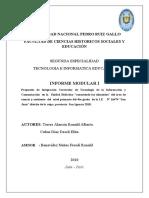Universidad Nacional Pedro Ruiz Gallo Informe