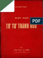 (1961) Tứ Tự Thành Ngữ - Hồ Đắc