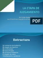 Etapa de Juzgamiento Eti Pj Gutierrez