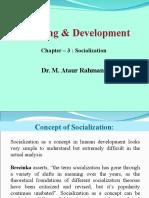 Chapter#3 Socialization