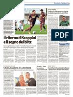 Il Tirreno Pontedera 03-11-2016 - Calcio Lega Pro