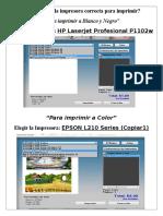 Cómo Elegir La Impresora Correcta Para Imprimir