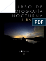 Prácticas y sesiones nocturnas, uso de trípode.