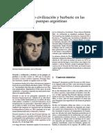 Facundo o Civilización y Barbarie en Las Pampas Argentinas