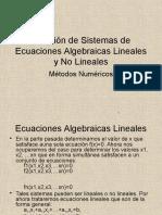 U3. Solucion de Sistemas de Ecuaciones