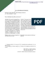 Reflexiones Sobre La Dignidad Humana en La Actualidad - Martínez Bullé-goyri, Víctor