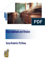 McKeown-Silica Stabilisers in Filtration