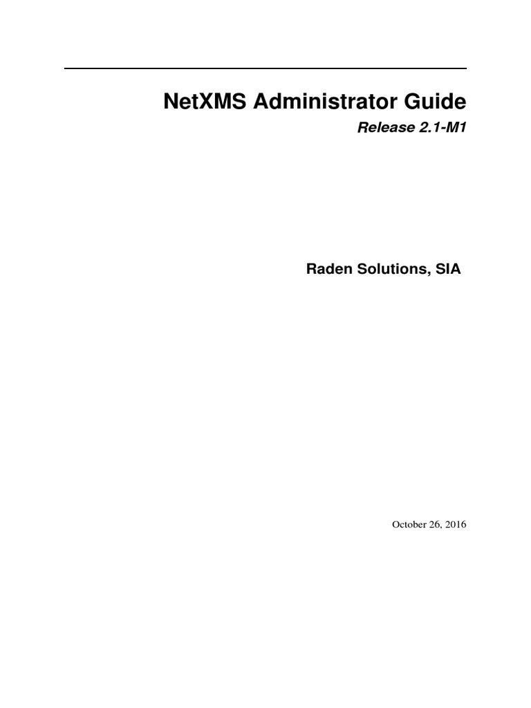 Netxms Admin Advanced Packaging Tool Ip Address