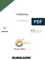 UTPT '10 India Quiz Final