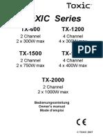 Toxic2007 Manual