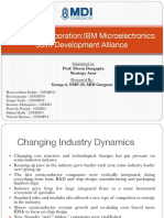 IBM Microelectronics strategy