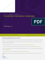 The Ultimate Guide to Hosting the Perfect Interview