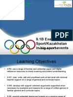 9.1B Exercise and Sport Kazakhstan in Large Sport Events PPT