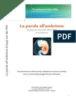 La Parola All'Embrione ITCS 2008 IT Articulo
