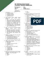 Soal Pkn Kelas Xi Dan Xii - Uts25