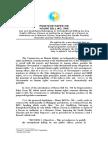 De LIMA and CHR Position Paper