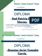 Diploma Padres