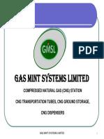 GMSL CNG Equipment