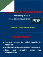 Child Health in Pakistan