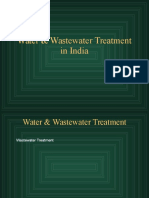Water & Wastewater Treatment in India