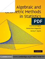 155492139 Algebraic and Geometric Methods in Statistics