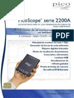 Pico Scope 2200 A