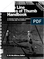 Pipe Line Rules of Thumb Handbook