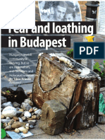 Fear and Loathing in Budapest