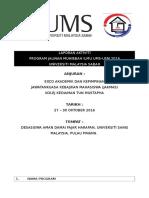 Final Report Jalinan Muhibbah Ilmu Ums-usm