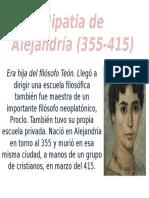 Hipatia de Alejandría (355-415)