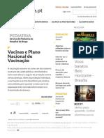 Vacinas e Plano Nacional de Vacinação » Educare - O Portal de Educação