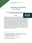 Exchange Rate Regimes and Trade Deficit