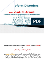 Somatoform disorder- Dr.Ziad Arandi powerpoint