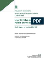 La participación de los usuarios en los servicios públicos