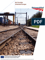 European Rail Freight Corridor August 2012