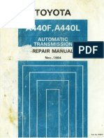 Transmission Manual A440F, A440L