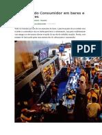 CONSUMIDOR-5 Direitos Do Consumidor Em Bares e Restaurantes