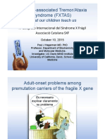 Fragile x Associated TremorAtaxia Syndrome (FXTAS) Paul Hagerman