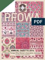 Annual Gazette 2014