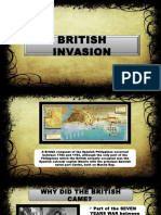 British Invasion Report