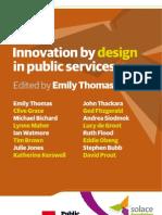 Innovación a través del diseño en los servicios públicos