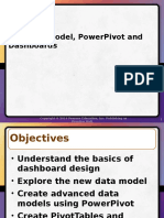 PowerPivot and Dashboards